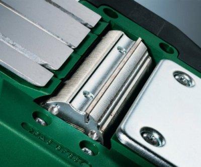 Patentiertes Woodrazor-Messersystem